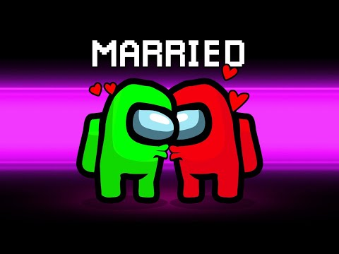 Getting MARRIED In AMONG US! (LOVERS Role) - Jelly