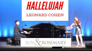 Roy Rosemary play Hallelujah by Leonard Cohen for my