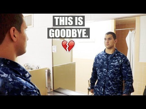 The last day in the United States Navy...