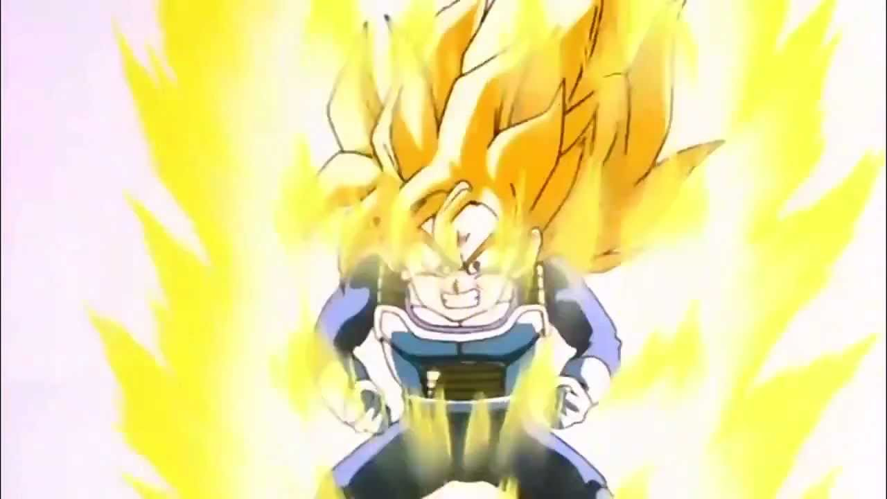 Gohan Turns Into A Super Saiyan For The First Time [HD