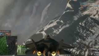 Battlefield 4™ Stealth Jet gameplay.