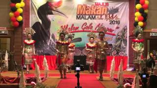 Part 1 Kumang Raban Ngepan Iban 2016