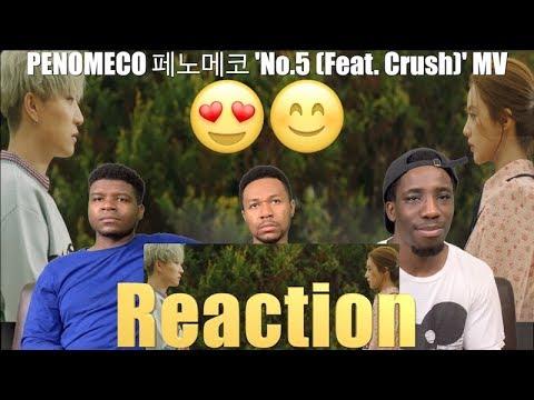 PENOMECO 페노메코 'No.5 (Feat. Crush)' MV (ViewsFromTheCouch) Reaction !!☺️😍😊