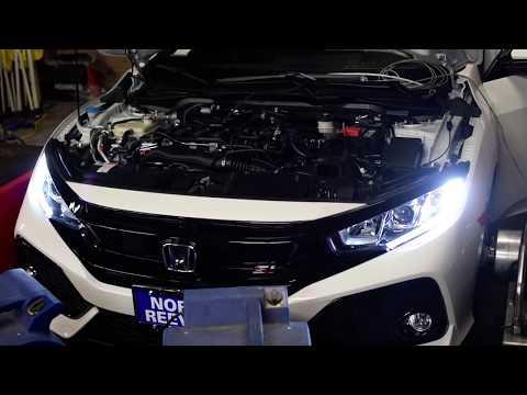 2017 Honda Civic Si Dyno - Hondata FlashPro