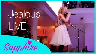 Download Lagu Labrinth Jealous cover LIVE by 12 year old Sapphire | x factor josh daniel version Mp3