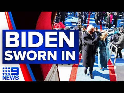 President Biden sworn into office at the 59th Inauguration | 9 News Australia thumbnail