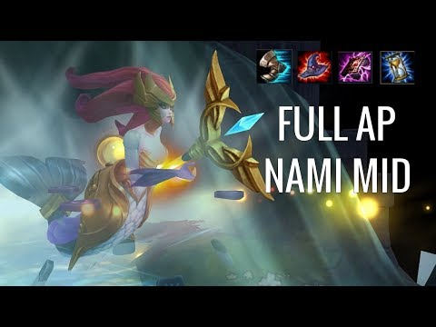 SO YOU WANT TO CARRY MID LANE?! Nami Mid - Off Meta Monday - League of Legends
