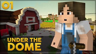 Minecraft Under the Dome #1: NOVA SÉRIE!