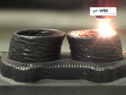 3-dimensional laser cladding - VITO - www.lcv.be