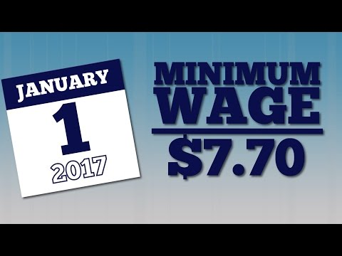 Labor Update: 2017 Minimum Wage Change