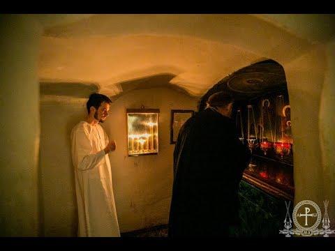 Монашеский постриг выпускника КДА