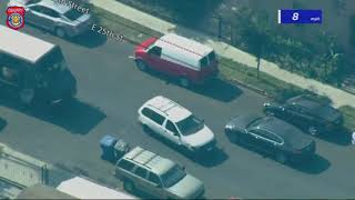 Suspect Leads Police In Chase Around South Los Angeles Neighborhood - September 23, 2020