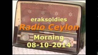 Radio Ceylon 08-10-2014~Wednesday Morning~02 Purani Filmon Ka Sangeet