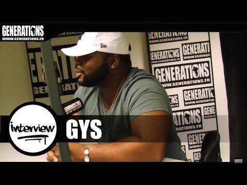 Youtube: Gys – Interview (Live des studios de Generations)