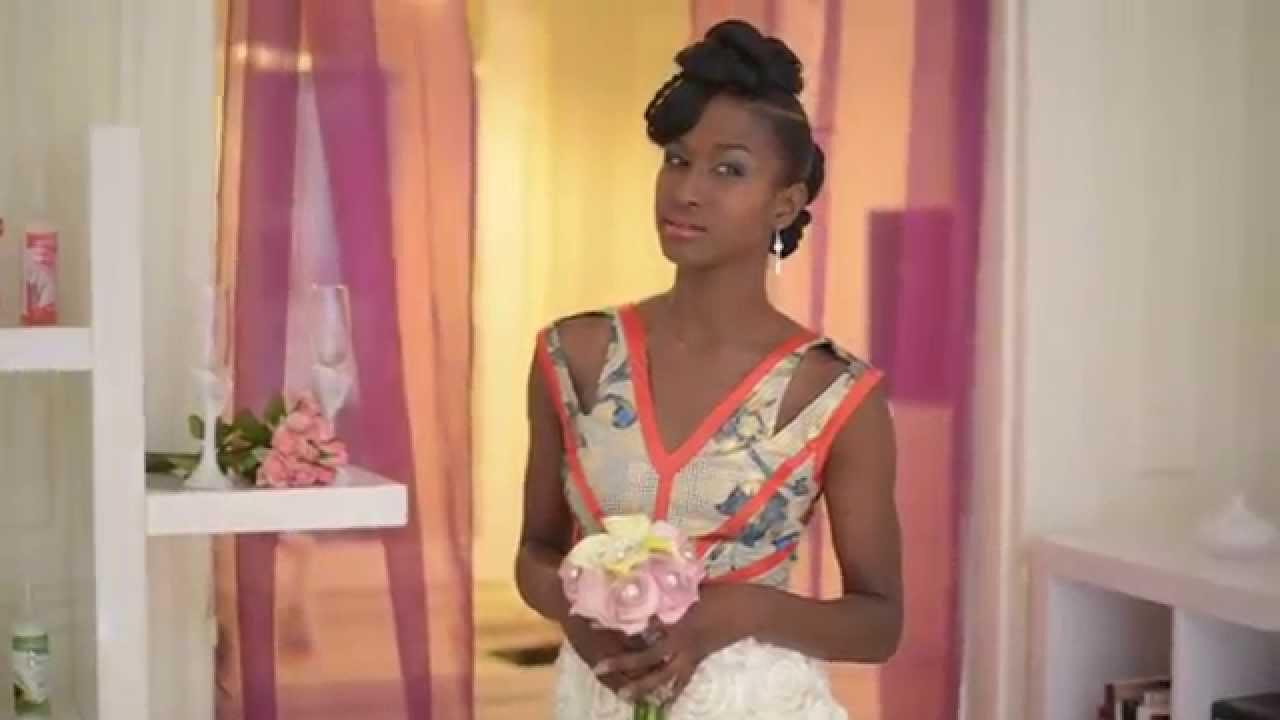 Tutoriel coiffure de mariée par Afro Wedding Magazine et Activilong , YouTube