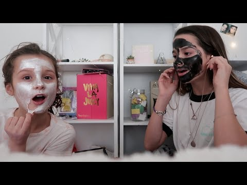 Sibling Whisper Challenge + Face Masks | Annie LeBlanc