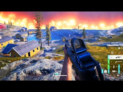 Battlefield: Firestorm Battle Royale Gameplay (First Game, 8 Kill Victory) thumbnail