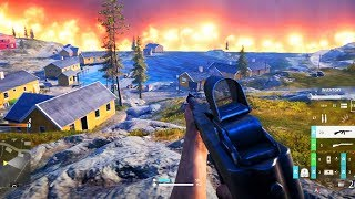 Battlefield: Firestorm Battle Royale Gameplay (First Game, 8 Kill Victory)