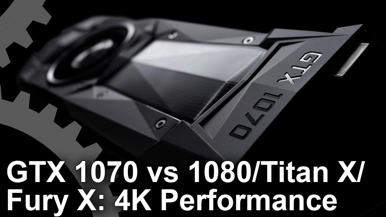 Nvidia GeForce GTX 1070 review • Eurogamer net