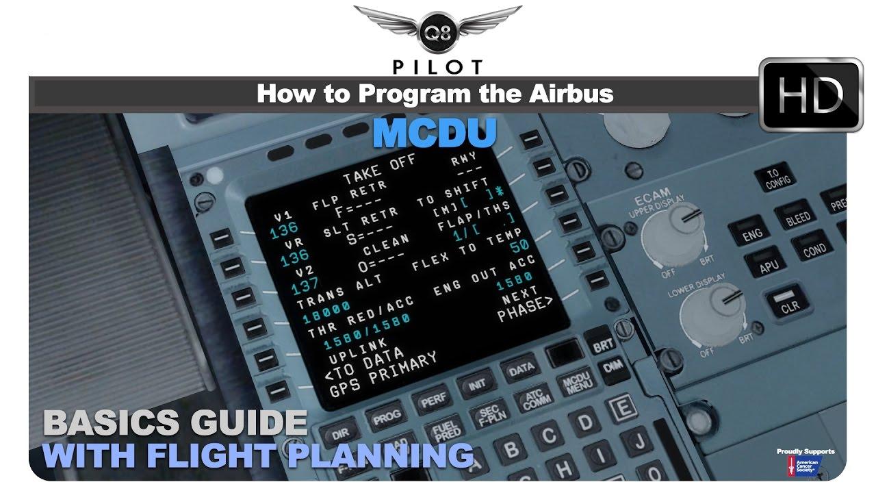 Stop Start Wiring Diagram 2006 Ford Ranger Fuse The Basics Of Flight Plan Programming Using Airbus Mcdu - Youtube