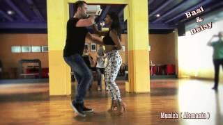 CLASE DE BACHATA BASI Y DEISY EN MUNICH ( ALEMANIA)