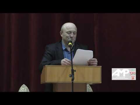 Киров авыл җирлеге башлыгы Илфак Гаянов халык алдында үзенең беренче хисабын тотты