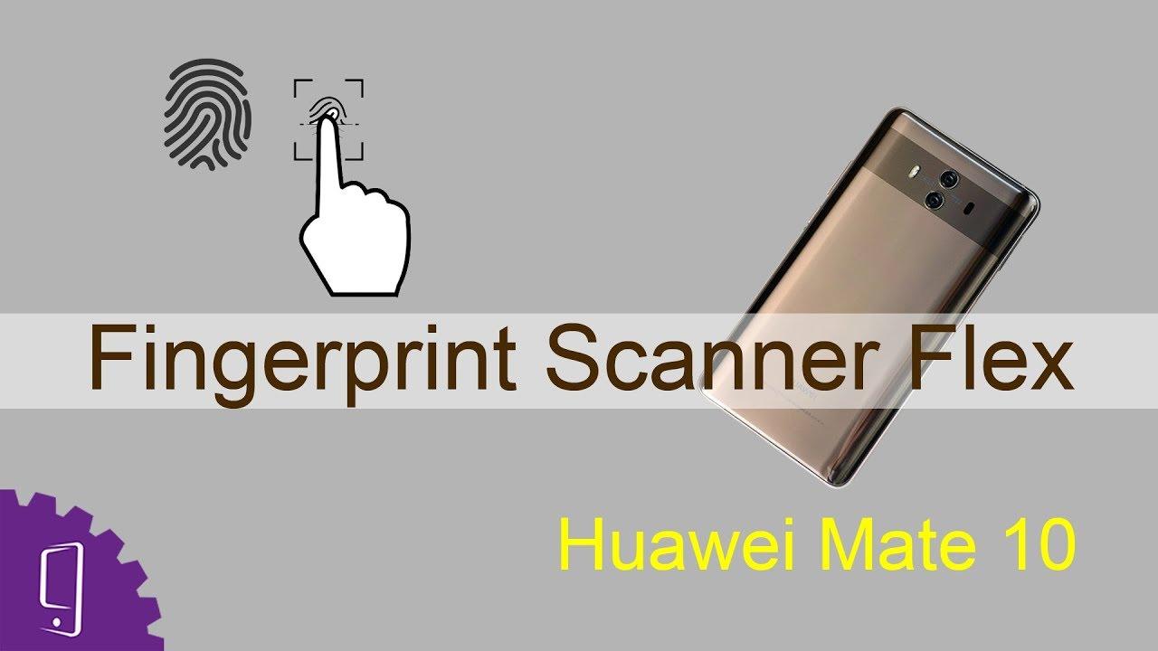 Huawei Mate 10 - Fingerprint Scanner Repair Guide