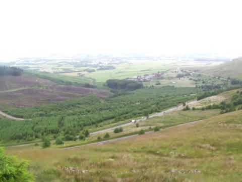 on Top of  Rhigos mountain