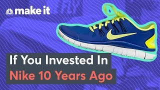 If You Invested In Nike In 2009 Here's What You'd Have Now
