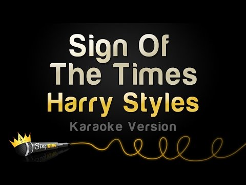 Harry Styles - Sign Of The Times (Karaoke Version)