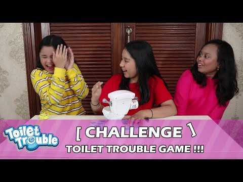 BASAHHHH!! Main Toilet Trouble Bareng Chiara & Farah Alfachirat