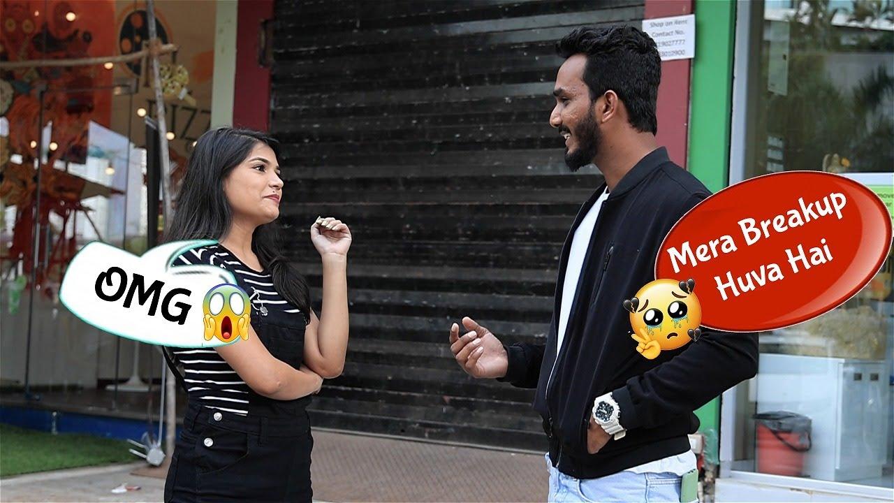 Mera Break Up Hogaya Hai | Hindi | Oye Its Prank