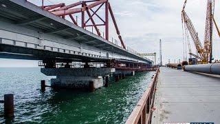 Пресс-тур на строительство Керченского моста 13.03.2017