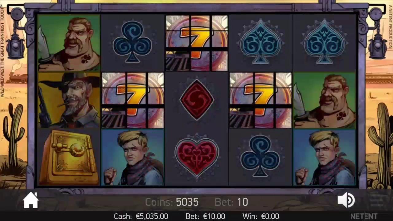 Wild west slot games free