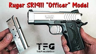 """Ruger SR1911 """"Officer"""" Model Review - TheFireArmGuy"""