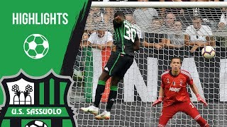 Juventus-Sassuolo 2-1 | Highlights 2018/19