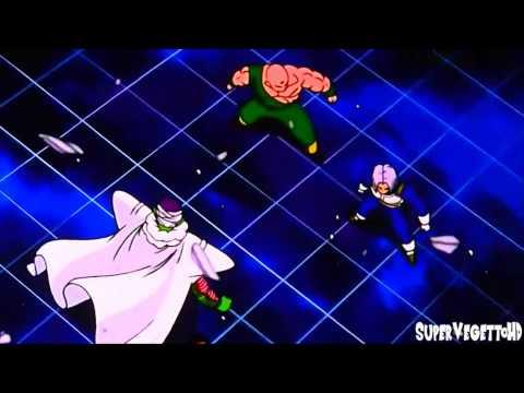 Goku Powers Up At Korin's Tower [1080p HD]