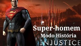 Injustice Gods Among Us - Modo História: Super-Homem - Playthrough (Pc Gameplay PT-BR)
