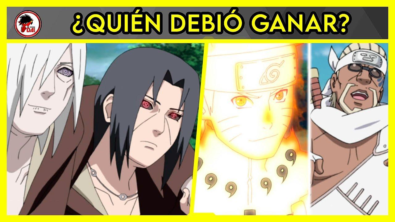 Download Naruto: Itachi y Nagato vs Naruto y Killer Bee - QUIÉN DEBIÓ GANAR