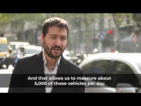 Real-world emissions testing in Paris