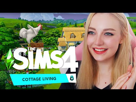THE SIMS 4 COTTAGE LIVING EXPANSION PACK TRAILER REACTION | FIRST IMPRESSIONS | TS4 | FARMING!! |