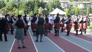 SFU Pipe Band - Medley - BC Highland Games 2015