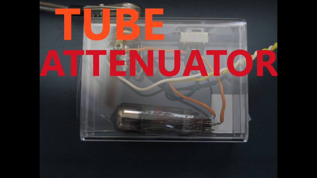 Tube Guitar Amp Attenuator Diy 6v6 Amp 12ax7 Preamp