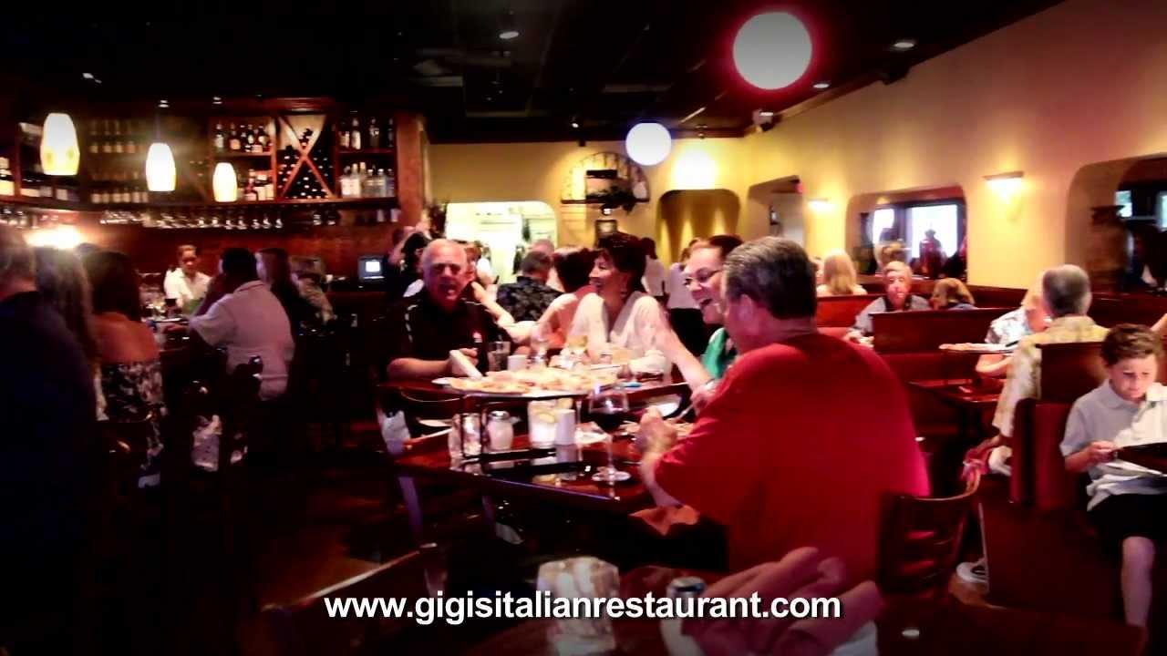 Gigi S Italian Restaurant 4 St Petersburg Area Locations Corporate Video Tour