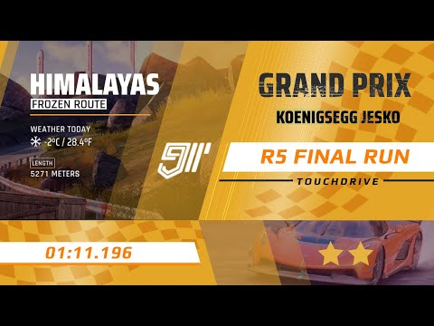 Asphalt 9 [Touchdrive] | KOENIGSEGG JESKO Grand Prix | Round 5 | 01.11.196 | R5 FINAL RUN With TIPS