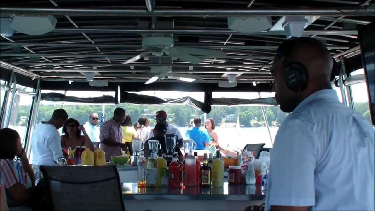 Lake Lanier Wedding Amp Party Boat Youtube