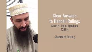 Q&A 85-86 - What are the conditions of obligation and validity for fasting?