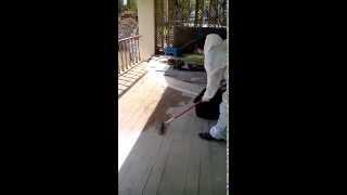 Нанесение резинового покрытия  подготовка