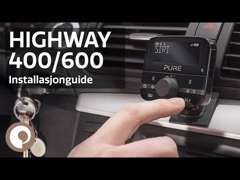 Pure Highway 400/600 - DAB- og Bluetooth-Adapter Til Bil (Norsk)