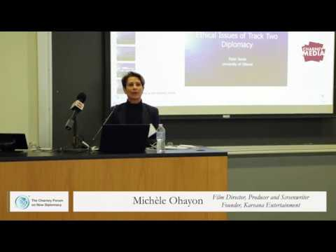 Michèle Ohayon Presentation | The Rise of New Diplomacy